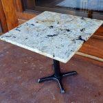 Outdoor granite tabletop