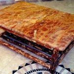 Custom granite coffee table top